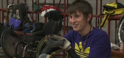 Documentary: Cody's New Game: After breaking his neck in a rugby game, teenager Cody Everson has had to adjust to life in a wheelchair. In less than two years, he's gone from learning to feed himself again to trying out for the Wheel Blacks, New Zealand's Wheelchair Rugby team.