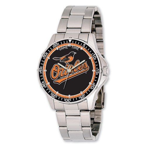 Mens MLB Baltimore Orioles Coach Watch Jewelry Adviser Mlb Watches. $70.00. Save 60%!