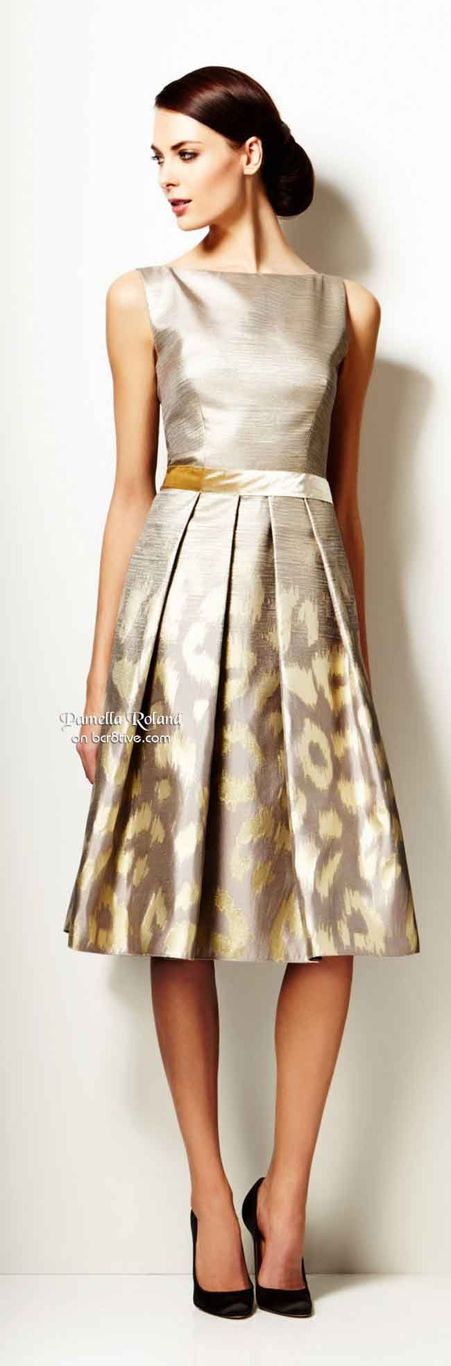 Pamella Roland Pre Fall 2014 We have a dress almost just like this at ReChic in Wilson, NC