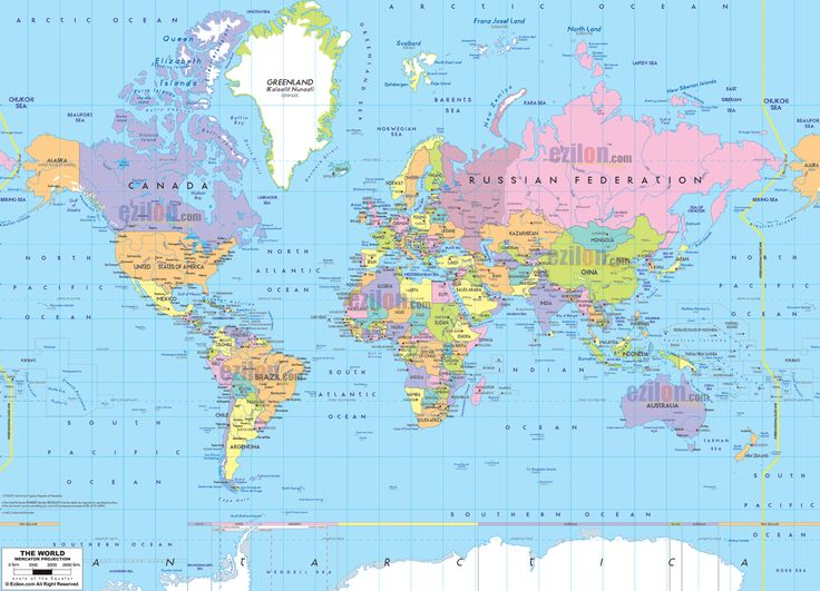 Google Image Result For Httpwwweziloncommapsimagesworld - Map of worlf