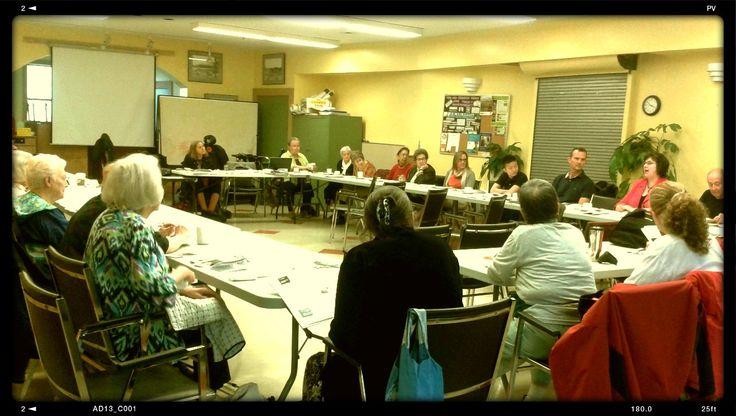 West End Seniors Community Planning Table at Gordon Neighbourhood House
