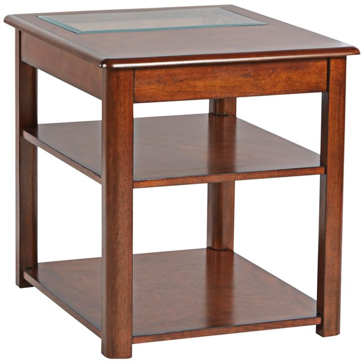Klaussner Madden Cherry End Table - Style # 7R380