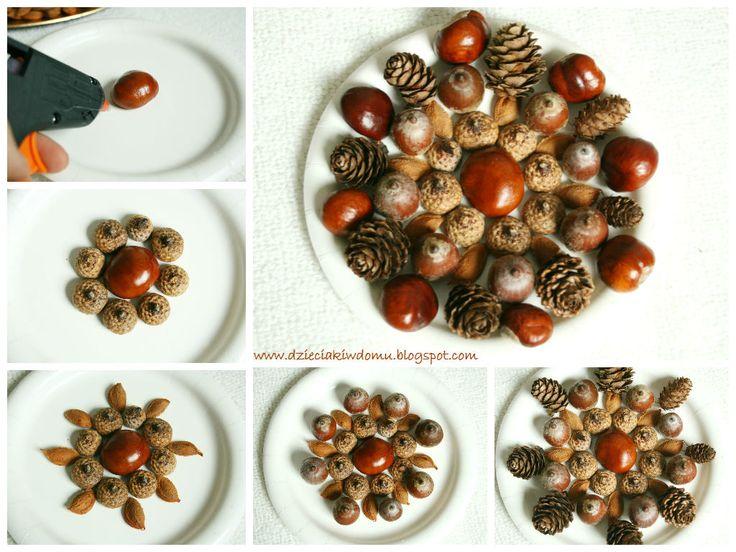 Jesienne mandale - praca plastyczna dla dzieci / fall mandala - paper plate craft for kids
