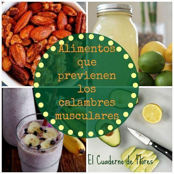 Alimentos que previenen calambres musculares