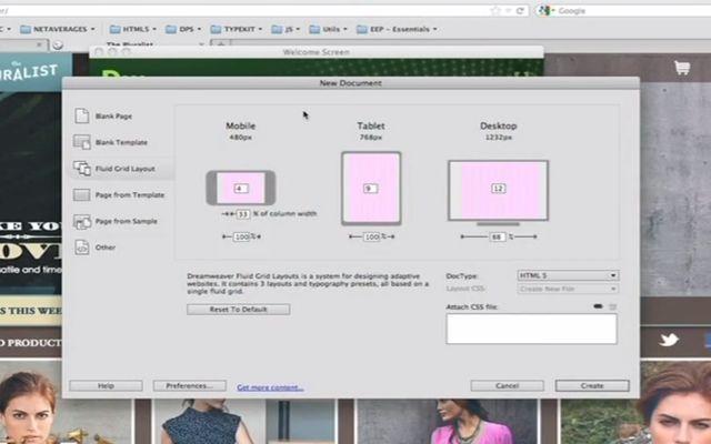 25 Adobe Dreamweaver CS6 Tutorials for Web Designers
