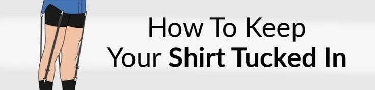 What Are Dress Shirt Stays   How To Keep Your Shirt Tucked In All Day