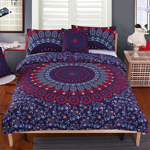 Hey, I found this really awesome Etsy listing at https://www.etsy.com/ca/listing/555566385/mandala-duvet-cover-set-mandala-piece