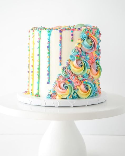 Super birthday cake rainbow sprinkles baby shower 63+ Ideas – Ice cream party theme