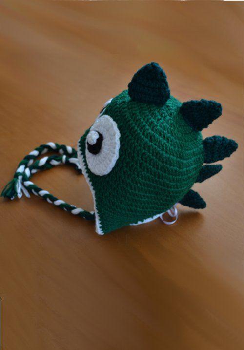 crochet Small dinosaur