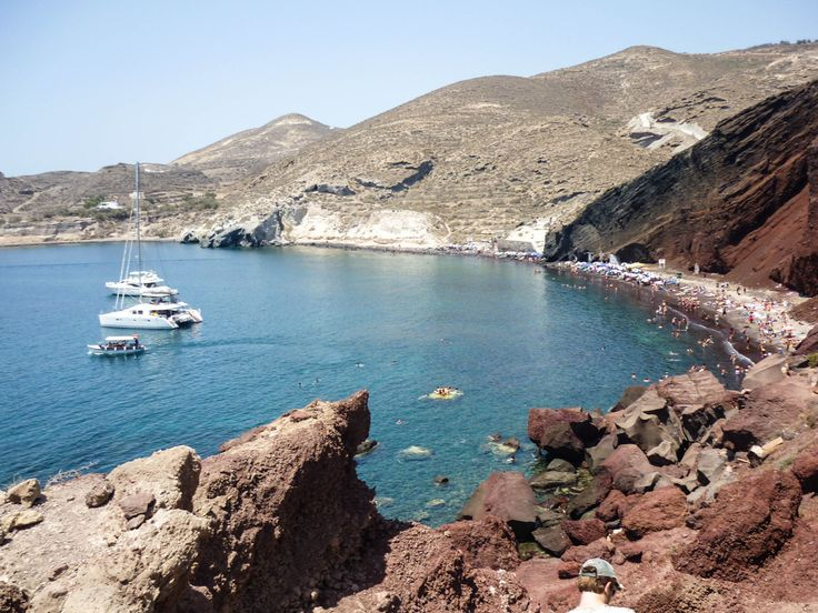 Red Beach, Santorini, Greece Download here.