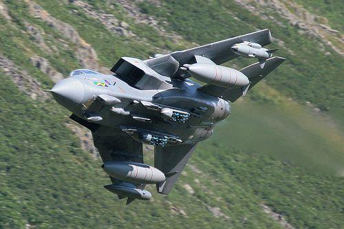 RAF Tornado GR4 low level at Thirlmere