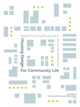 Housing Design For Community Life URBAN DESIGN / Thiết Kế Đô Thị