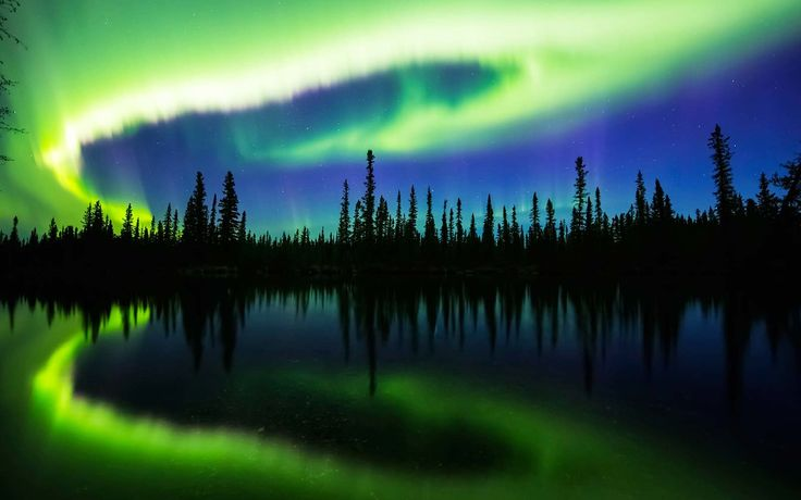 Look Up Tonight for a Chance to See the Northern Lights Over the U.S. | The U.S. National Oceanic and Atmospheric Administration's Space Weather Prediction Center said there's a 50- to 60-percent chance of the solar storm continuing through at least Thursday night. That's good news for anyone hoping to see the Northern Lights.