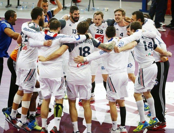 Blog Esportivo do Suíço: França supera Catar e fatura Mundial do handebol pela quinta vez
