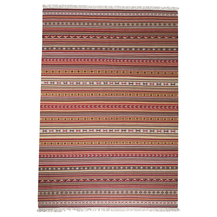 Ended up with this rug from Ikea...again, the poorman's version.  100% wool, though and very nice!