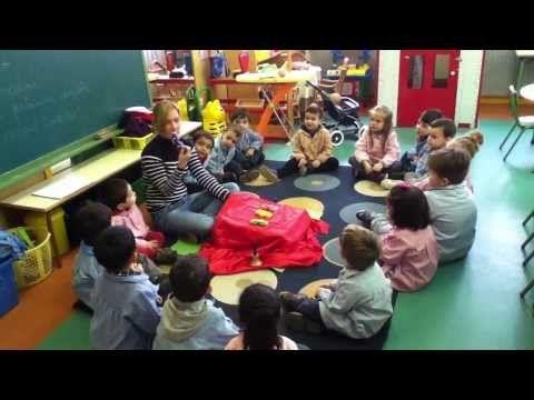 Trabajando el Mindfulness en el aula. Infantil 3 años B - YouTube
