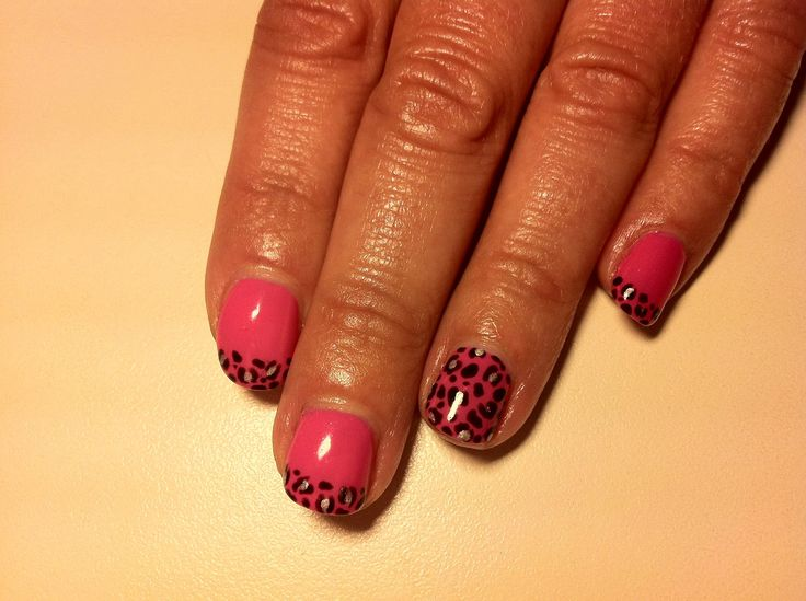 76 best shellac images on pinterest cnd shellac shellac nails cnd shellac nail art leopard print tips cute stylish prinsesfo Image collections