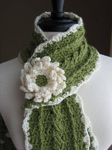 Mejores 14 imágenes de cuellos y bufandas en Pinterest   Bufandas ...