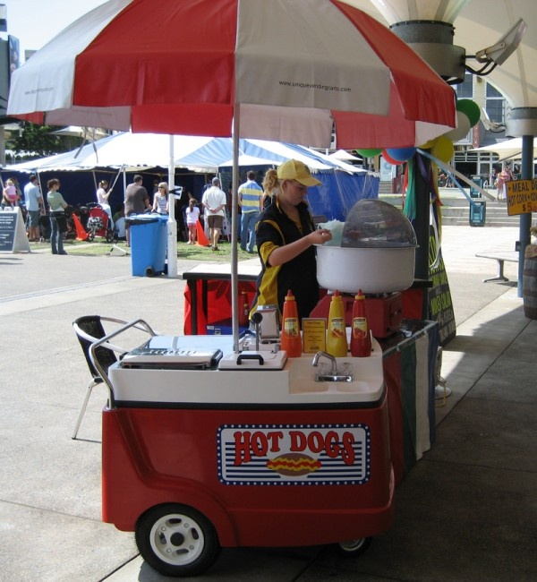 Hot Dogs Cart - Carnival