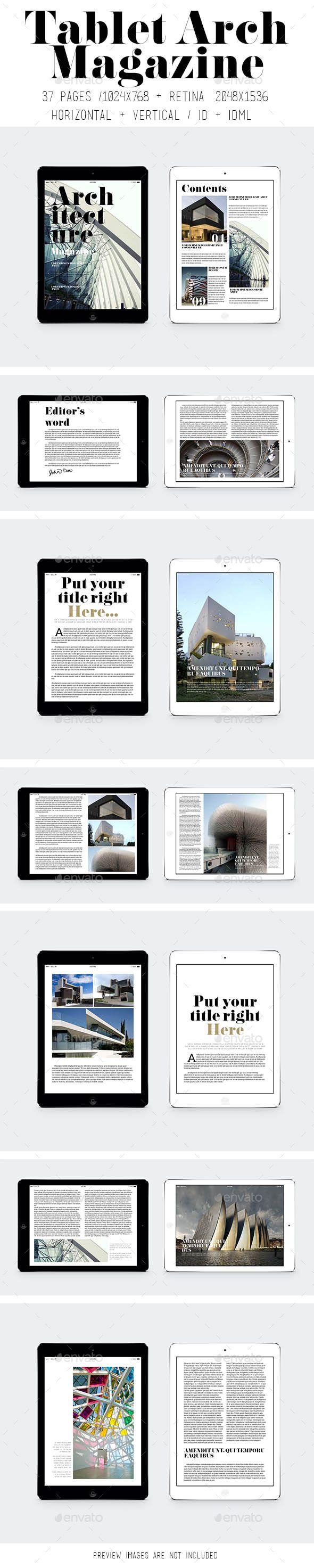 iPad & Tablet Arch Magazine Tempalte #design Download: http://graphicriver.net/item/ipad-tablet-arch-magazine/9191761?ref=ksioks