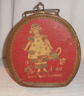 U0027Mary Mary Quite Contraryu0027 Vintage Nursery Rhyme Doll Case