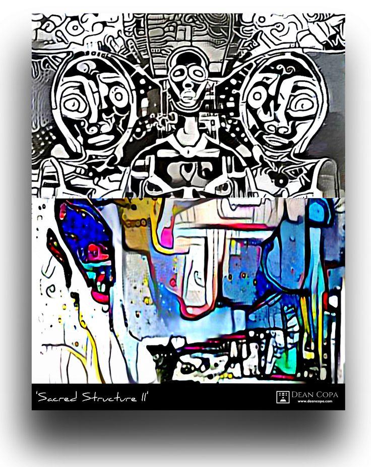 ''Sacred Structure II'' 2017 by Dean Copa. #DeanCopa #digitalart #modernart #contemporaryart #fineart #finearts #artoftheday #artdiary #kunst #art #artcritic #artlover #artcollector #artgallery #artmuseum #gallery #collect #follow #mustsee #greatart #contemporaryartist #emergingartist #ratedmodernart #artdealer #collectart