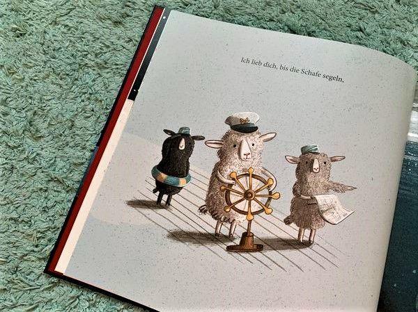 Kinderbuchtipp Ich Lieb Dich Bis Die Kuhe Fliegen Die Schonste Liebeserklarung Der Welt Kinderbucher Schonste Liebeserklarung Und Reiseblog