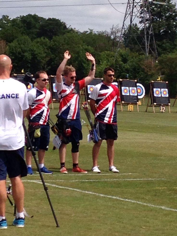 GB Men's Team. SAW