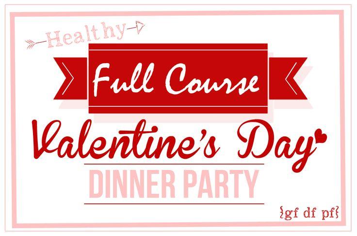 Healthy Valentine's Day Dinner Menu + My Paleo Flourless Chocolate Cake  – Recipes