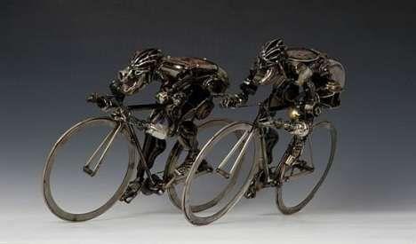 Peças de Carro na Arte Reciclada de James Corbett