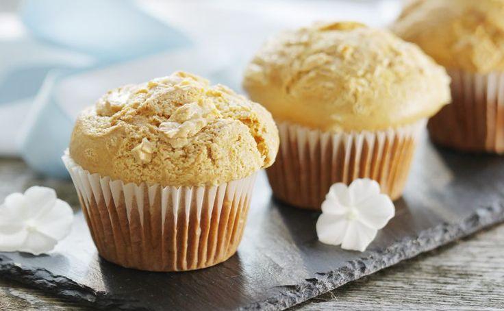 Mleczne muffiny z białą czekoladą | Ania gotuje