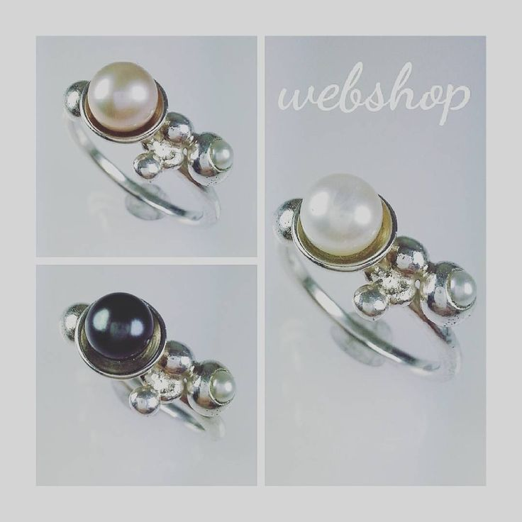 Vad tycker du om dessa ringar? Silver & sötvattenspärlor. Finns i webshopen: angelicamardhdesign.etsy.com Available in my etsyshop.  #angelicamardhdesign #pärlor #pärlring #pearl #pearlring #silverring #etsyshopowner #etsyshop #etsy #webshop #jewelry #smycken #bröllop #wedding #bridesmaidgift