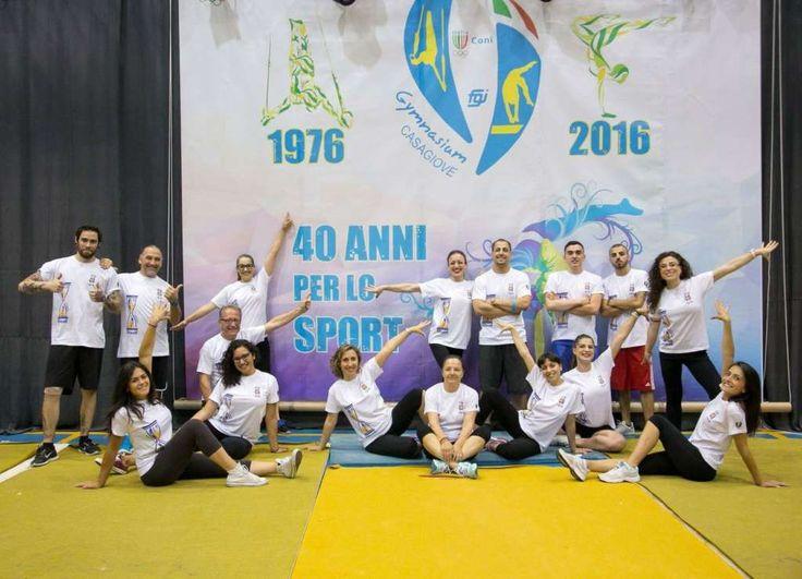 La Ginnastica Gymnasium di Casagiove compie 40 anni di attività. Che festa ieri al Palazzetto dello Sport! a cura di Redazione - http://www.vivicasagiove.it/notizie/ginnastica-gymnasium-casagiove/