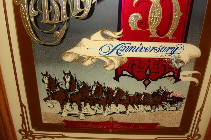 Budweiser Clydesdales 50th Anniversary Limited Edition