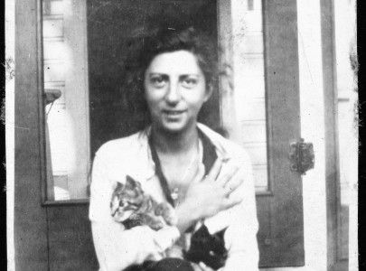 Frances Slanger, an American nurse killed in Europe in WWII é