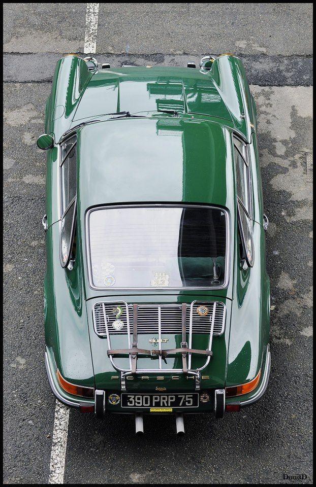 Porsche: Green Porsche, Bike Cars, Cars Collection, Porsche Cars, Sexy Cars, Gentleman Cars, Green 911T, Cdub Porsche, Porsche 911T