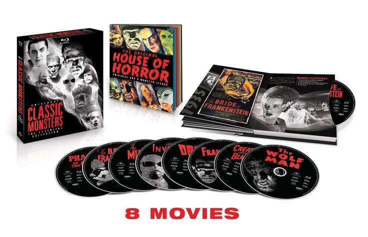 Amazon.com: Universal Classic Monsters: The Essential Collection [Blu-ray]: Boris Karloff, Bela Lugosi, Jr Lon Chaney, Helen Chandler: Movies & TV