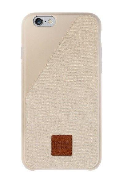 De ultieme bescherming: de CLIC 360 van Native Union voor iPhone 6 Plus in zandkleur. #iPhone6Plus #case #fall