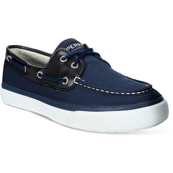 Sperry Men's Prints Boat Shoes ($85) ❤ liked on Polyvore featuring men's fashion, men's shoes, men's loafers, navy, mens shoes, sperry mens shoes, mens leopard print shoes, mens sperry topsiders and mens topsiders