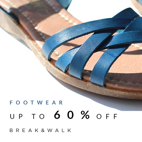 •••ENJOY••• your weekend and take a •••LOOK••• at our •••FOOTWEAR••• collection| UP TO 60% OFF | WON'T REGRET! | SHOP ONLINE www.breakwalk.com
