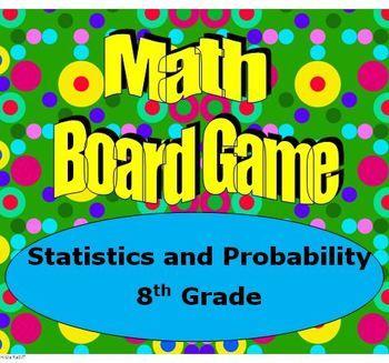 math board game 8th grade statistics and probability 8 sp statistics worksheets and student. Black Bedroom Furniture Sets. Home Design Ideas