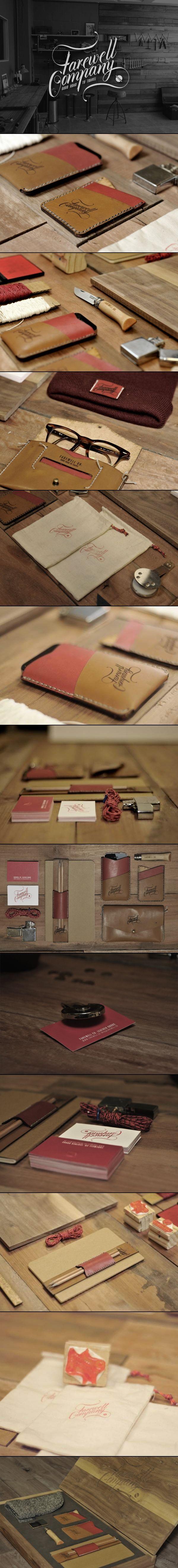 Farewell Co.   stationary corporate design branding marketing   Take a look at www.LogoGestaltung-Hamburg.de