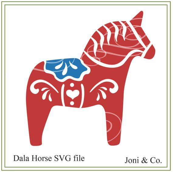 Dala Horse Svg File Scandinavian Christmas Swedish Etsy Dala Horse Scandinavian Christmas Swedish Christmas