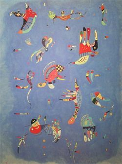 Kandinsky: one of my favorite painters...