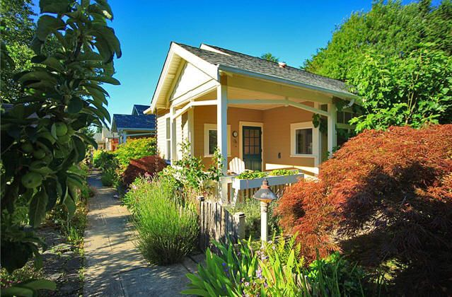 Whidbey Island Real Estate Downtown Langley Cottage With
