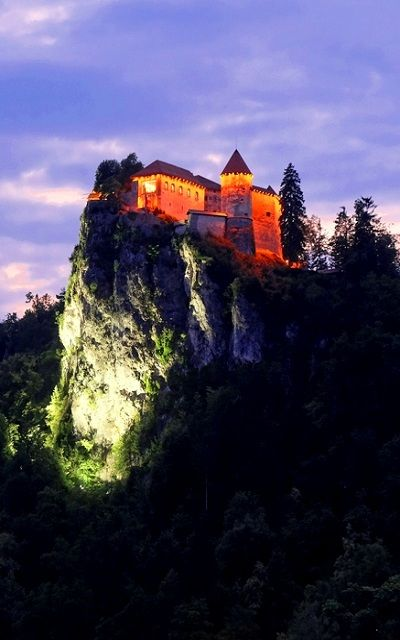 Bled Castle at night, Slovenia | by Kurt Stamminger