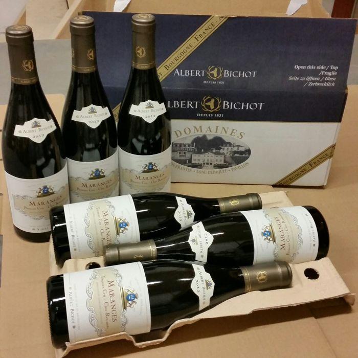 Nu in de #Catawiki veilingen: 2012 Maranges 1er Cru Clos Roussot - Albert Bichot - 6 bottles 75 cl.