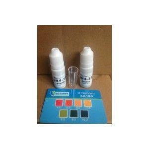 Nutriculture pH test card 4.01-10-01