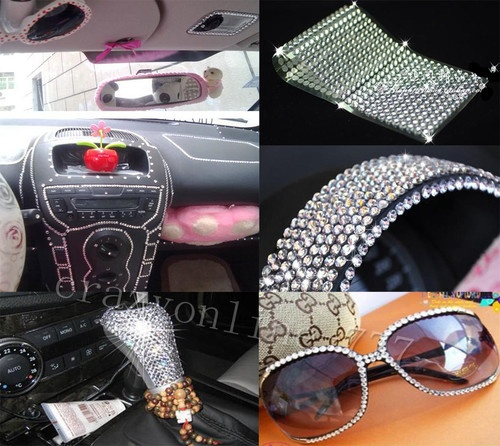 2016pcs auto car bling crystals diamonds interior exterior silvery stickers that 39 s hilarious. Black Bedroom Furniture Sets. Home Design Ideas