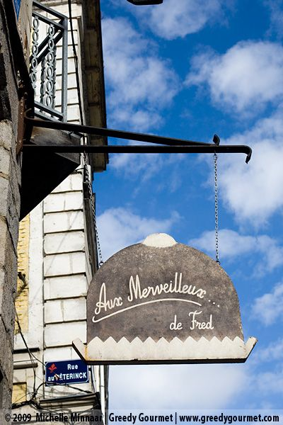 A day trip to Lille with Eurostar. We also visited Aux Merveilleux de Fred.